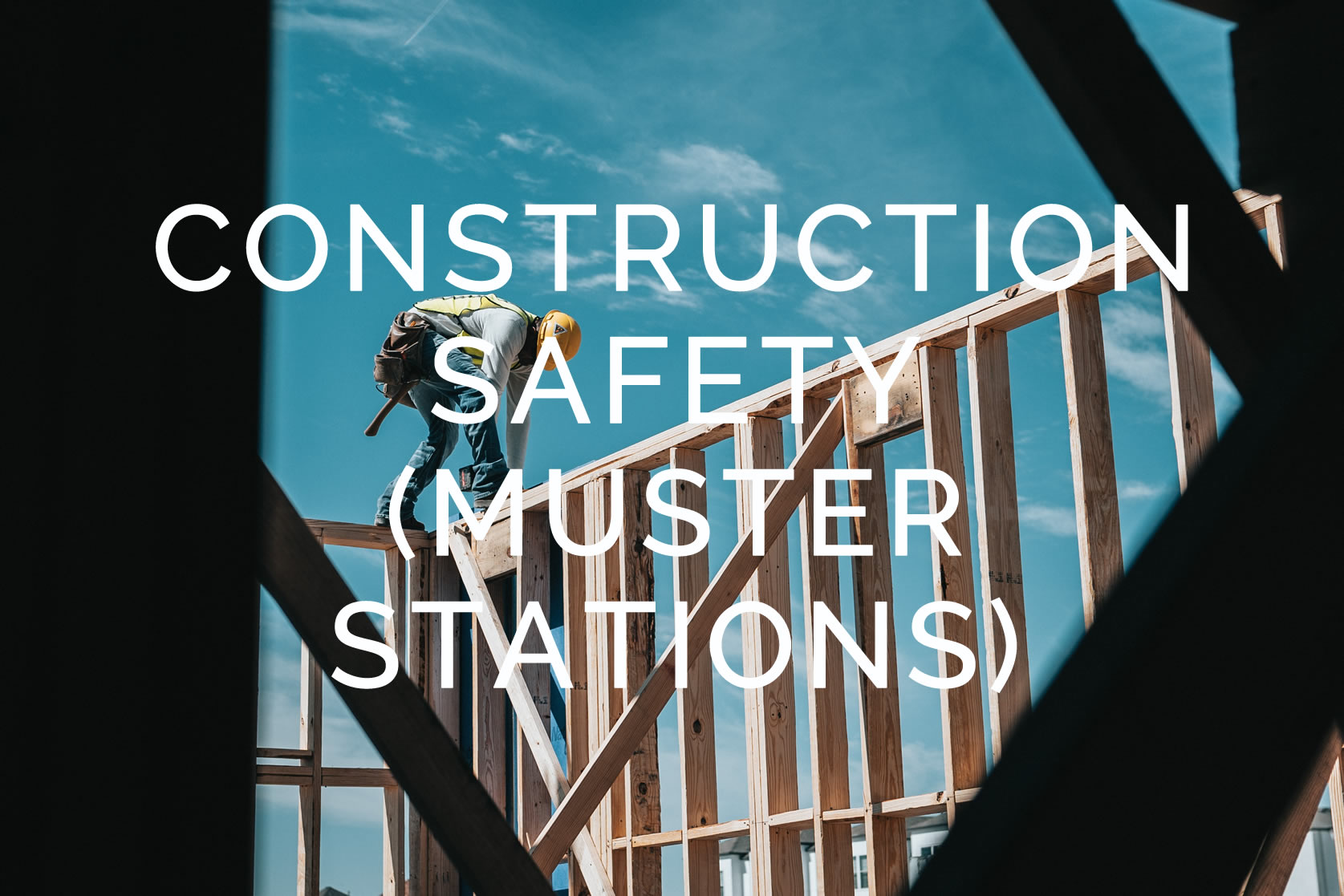 An Essential Tool for Construction Safety (Muster Stations) WoodsCan Hornet Rechargeable Electric Air Horn - the world's most advanced signaling device for industrial and recreational safety.